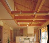 掛込天井と平天井
