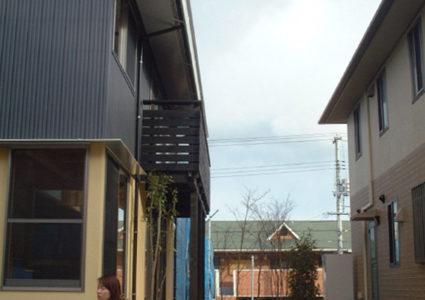 自然の風を利用した家
